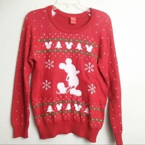 Disney Mickey Mouse Christmas Sweater
